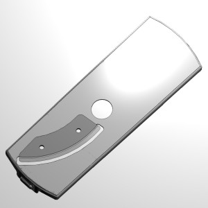 Double slicing insert