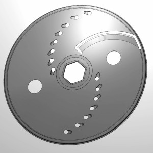 large slice / large grater disc