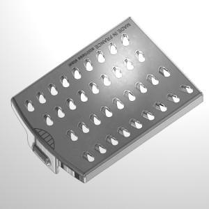 single grating insert for food processor