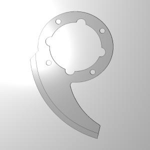 single blade for small capacity processor