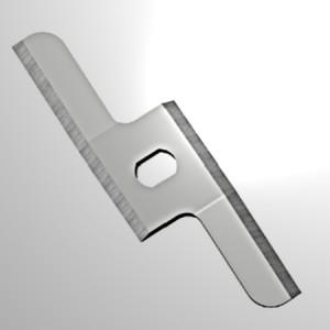 Mixer blade