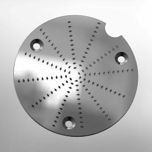Disque piqué pour pour centrifugeuse